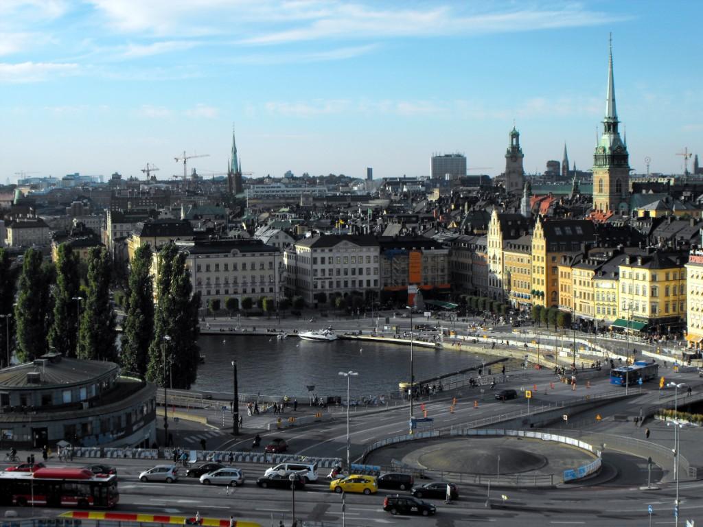 Gamla Stan i sztokholmski ślimak