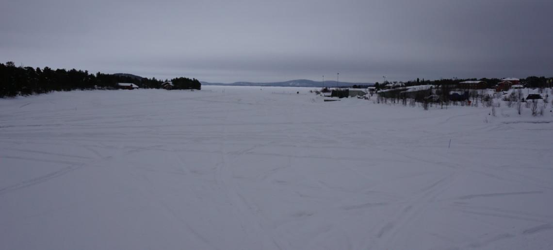 Leniwy dzień w Inari
